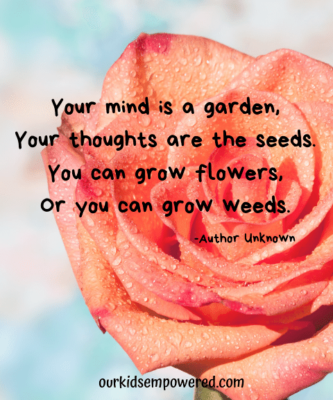 Plant Positive Thoughts